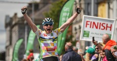 'A lad with a 9-5 job takes a stage win!' Eoin Morton was today's unlikely hero at the Rás