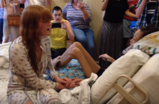 Florence and the Machine sang a surprise duet with a sick fan who couldn't make her gig