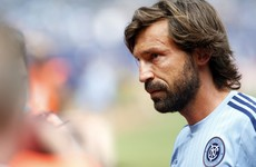 Andrea Pirlo: 'In MLS there's lots of running and too little play'