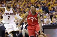 Lowry lights up game 4 as Raptors claw their way back level with Cavs