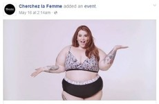 "Facebook apologises for banning ""undesirable"" photo of plus-size woman"