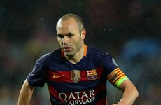 'It would be an injustice if Iniesta finishes his career without the Ballon d'Or'
