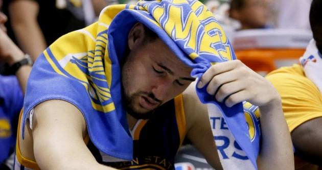 Remember when Golden State couldn't lose? Now they're one game from disaster