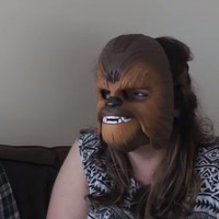 An Irish couple got their hands on THAT Chewbacca mask and had serious craic