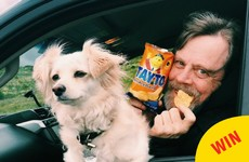 Mark Hamill just said goodbye to Ireland with a bag of Tayto