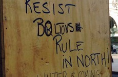 A Game of Thrones fan in Dublin made some edits to this anti-British graffiti