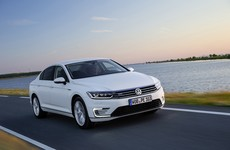 Volkswagen's plug-in hybrid Passat can travel up to 50km on pure electric power