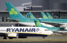 Strikes in France have led to flights being grounded in Dublin