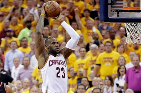 Cleveland Cavaliers star LeBron James