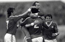 Reeling in the years: Do you remember the day Ireland qualified for Euro 88?