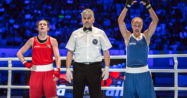 World's End! Katie Taylor suffers shock defeat in world championship semis