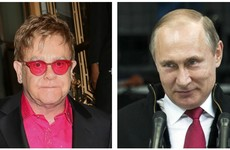 Putin has put off meeting Elton John to talk about gay rights
