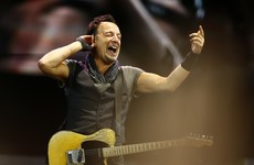 Newcomers beware - Bruce Springsteen is very, very punctual