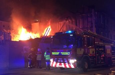 Firefighters battle two separate blazes in north Dublin
