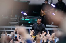 Some fans weren't happy about the sound quality at tonight's Bruce Springsteen gig