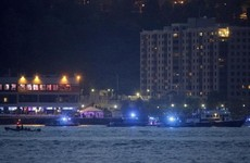 Vintage plane crashes into river in New York City