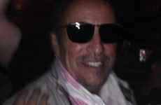 Bruce Springsteen dropped into his Dublin local this afternoon