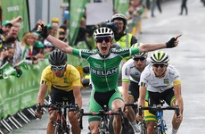 """I've always wanted to be one of the men of the Rás"" - Eddie Dunbar savours big stage win"
