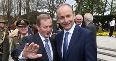 Fianna Fáil is now level with Fine Gael in popularity