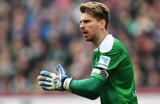 Leicester are bringing in German goalkeeper Ron-Robert Zieler