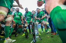 Connacht's squad paid for four academy players to come to the Pro12 final
