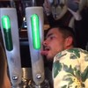 A British tourist got his tongue stuck to a beer tap in this Dublin pub