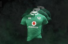 New-look collar makes Ireland rugby jersey pretty tidy