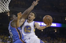 Tickets for tonight's Warriors v Thunder Game 7 sold for over €26,000 - each!