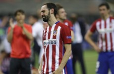 After missing decisive shootout penalty, Juanfran pens heartfelt letter to Atletico fans