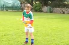 Young hurlers of Ireland, the crossbar challenge benchmark has been set