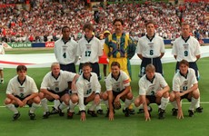 The retro Euro teams we loved: England, 1996