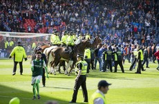 Hibs fans banned for life over attacks on Rangers players