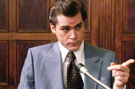 Goodfellas portrayal of Henry Hill, a mobster informant whose family entered the US witness protection programme.