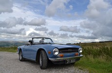 My Best Road Trip: my Dad and me and our 1973 French Blue Triumph TR6