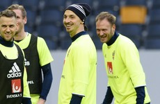 Ibra humbly admits he's far too good for the Swedish league