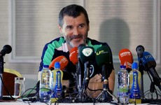 'You're playing international football. Control the bloody ball!' - Keane