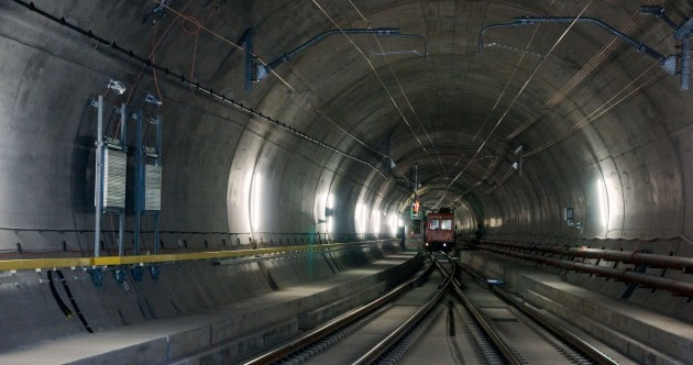 PICTURES: World's largest tunnel opens under the Swiss Alps