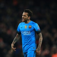 Barca confirm Dani Alves' departure as they line up Arsenal's Bellerin as a replacement