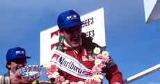 'Better than Senna' - Tommy Byrne was the greatest racing driver you've probably never heard of