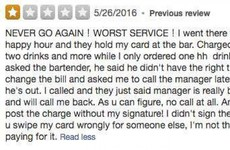 This battle between a restaurant and a Yelp reviewer is the craziest thing you'll read today