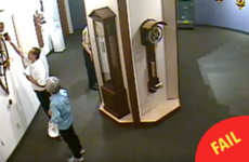 This man ignored a museum's 'no touching' rules and smashed a priceless clock
