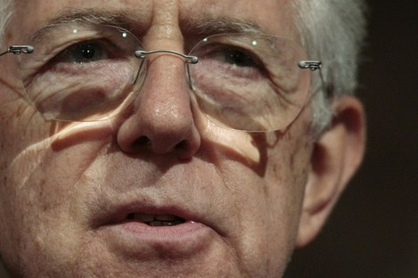 Mario Monti will present his government to the Italian president today - paving the way for him to formally become prime minister.