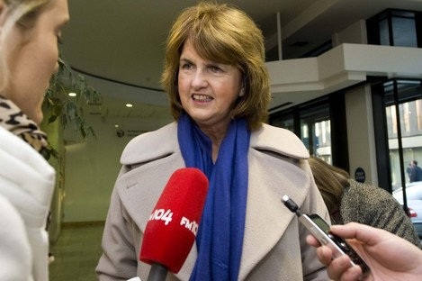 Joan Burton is reportedly considering making employers foot the bill for employees' sick pay.
