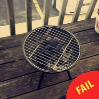 This girl's attempt to BBQ a few burgers turned into a gas two-hour ordeal