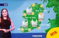 A genius has created the most Irish weather forecast for the bank holiday weekend