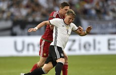 Schweinsteiger returns from 3-month lay-off as Germany bounce back from Slovakia defeat