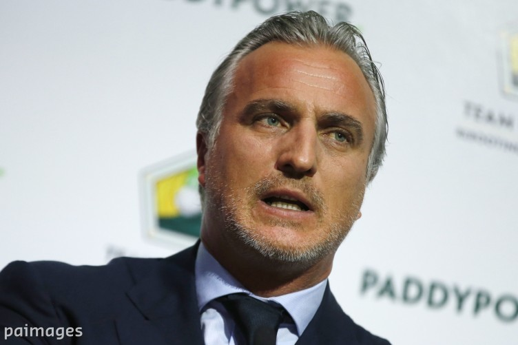 David Ginola is making a remarkably quick recovery.