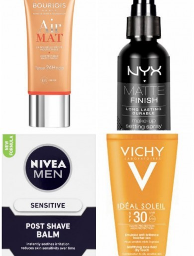 10 products that will help oily-skinned gals through the Irish summer