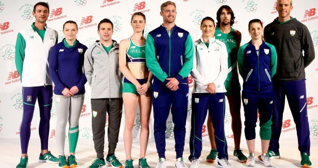 Team Ireland's New Balance kit for Rio 2016 has been unveiled