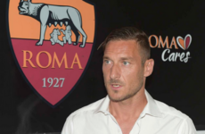 39-year-old Francesco Totti signs new contract at Roma to finish career as one-club man